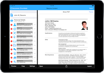 ultimate resume app for iphone ipad creates resumes and cover